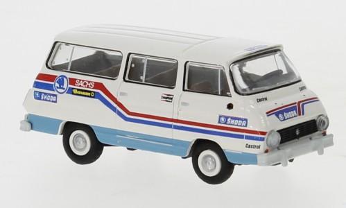 """Brekina: Skoda 1203 Bus (1969) """"Skoda Rallye Team"""" (30803)"""