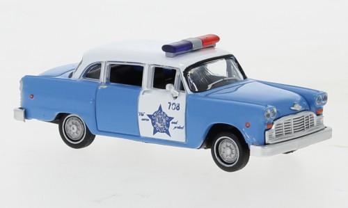 """Brekina: Checker Cab """"Chicago Police Department"""" Police Car (58939)"""
