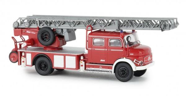 """Mercedes L 1519 DLK 30 """"Feuerwehr"""" rot/weiß in TD (47077)"""