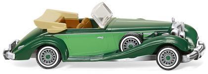 Wiking Mercedes 540 K Cabrio kieferngrün/gelbgrün (083505)