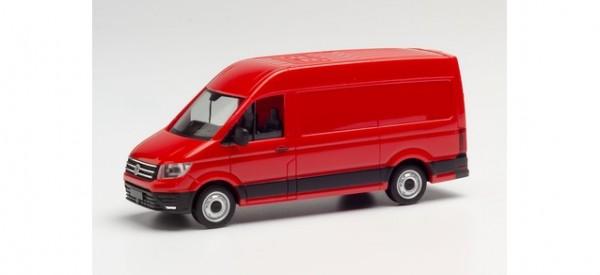 VW Crafter Kasten Hochdach rot (RAL 3000) (092982-005)