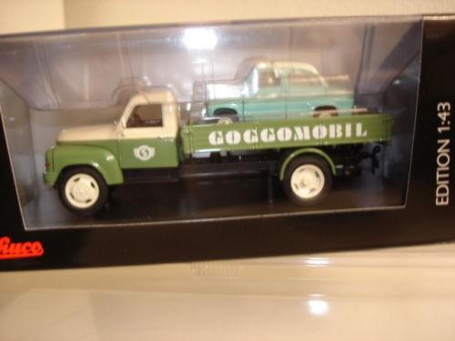 "Hanomag L 28 Pritsche ""Goggomobil Service"" in PC (02938)"