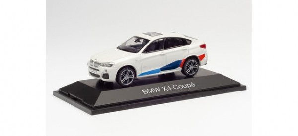 Herpa BMW X4 weiß Performance Tuning (071635)