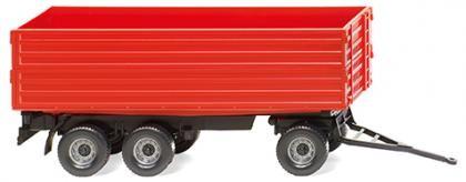 Landwirtschaftlicher Dreiachsanhänger rot (038818)