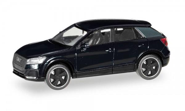 """Herpa: Audi Q2 """"Black Edition"""" brillantschwarz (420877)"""