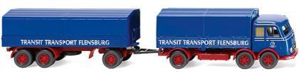 """Mercedes LP 333 Pritschen-Hz. """"Transit Transport"""""""