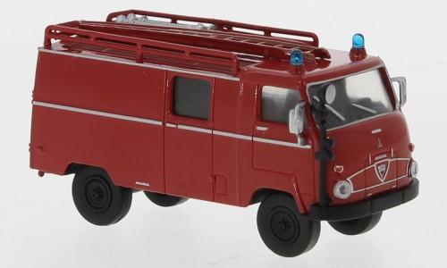"Brekina: Faun F 24 LF 8 (1960) rot/schwarz ""Feuerwehr"" (38100)"