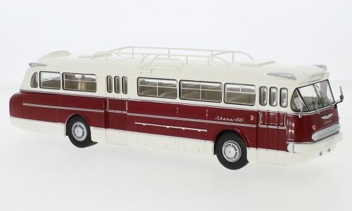 IXO Ikarus 66 (1972) weiß/rot (BUS025)