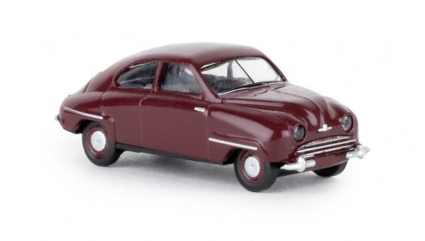 Brekina Saab 92 dunkelrot (28600)