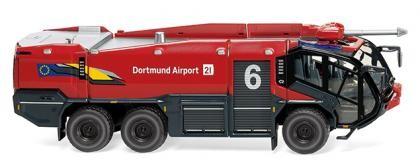 """Wiking Rosenbauer FLF Panther 6x6 Feuerwehr """"Dortmund"""" (062648)"""