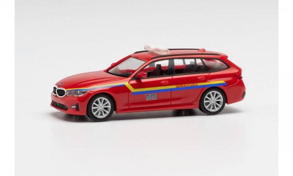 """Herpa BMW 3er Touring Feuerwehr """"TU München"""" (096317)"""