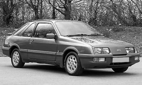 IXO Ford Sierra XR 4 (1984) blau-met. (CLC380)
