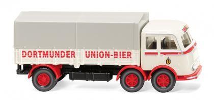 """Wiking MB LP 333 Pritschen-Lkw """"Dortmunder Union"""" (042903)"""