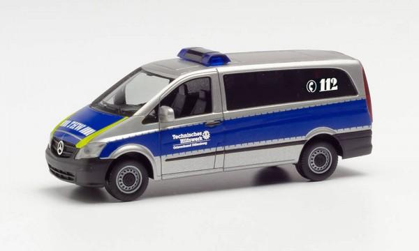 """Herpa Mercedes-Benz Vito Bus """"THW Dillenburg"""" (096140)"""