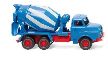 Wiking MAN Betonmischer blau/weiß (068208)