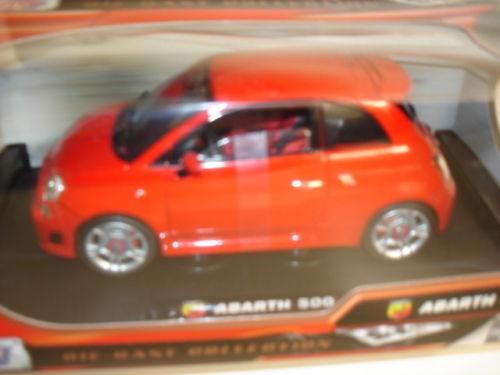 Motormax: Fiat 500 Abarth, rot (79168)