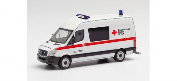 "Herpa Mercedes Sprinter ´13 Halbbus ""BRK München/Katastrophenschutz"" (095631)"