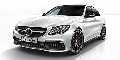 Minichamps: Mercedes AMG C 63 Limousine weiß (870038100)