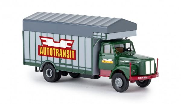 "Brekina Scania L 111 Großraumaufbau ""Autotransit"" (SE) (85132)"