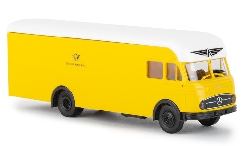 "Brekina Mercedes LP 322 Möbelwagen (1960) ""Deutsche Bundespost"" (57230)"