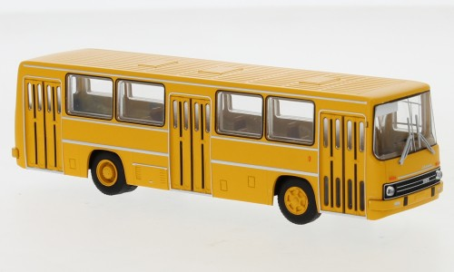 Brekina: Ikarus 260 Stadtbus (1972) dunkelgelb (59800)