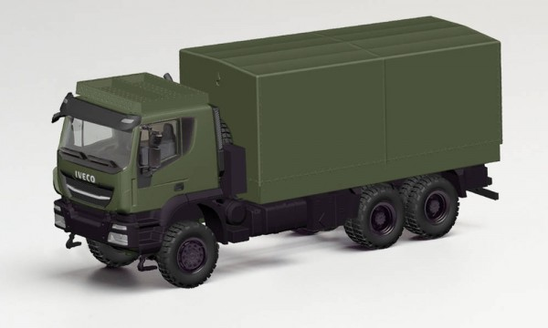 "Herpa Iveco Trakker 6x6 Pr./Pl. ""Bundeswehr"" (746762)"
