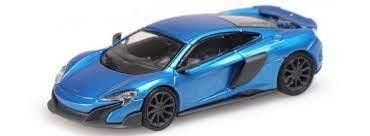 Minichamps: McLaren 675 LT Coupe cerulean blue (870154424)