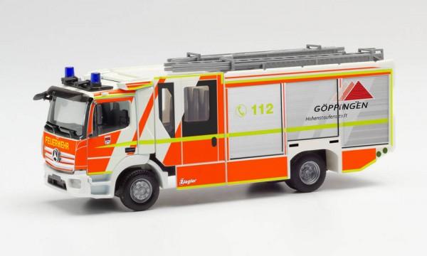 """Herpa Mercedes-Benz Atego `13 Ziegler Z-Cab """"Feuerwehr Göppingen"""" (096126)"""