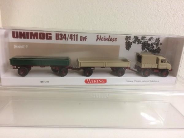 "Wiking Unimog U34/U411 ""Weinlese"" (99-001438)"