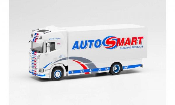"Herpa Scania CS Koffer-LKW ""Autosmart"" (NL) (313759)"