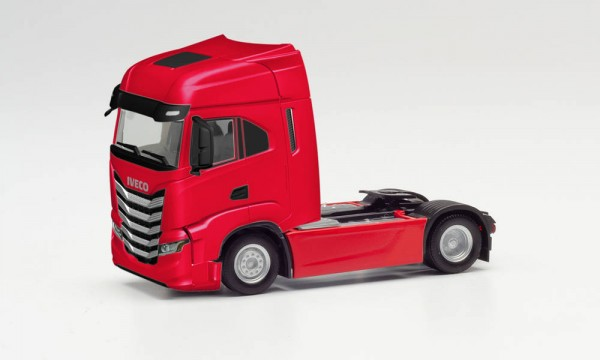 Herpa Iveco S-Way Zgm. rot (313452)