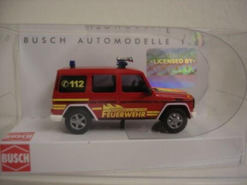 """Mercedes G-Klasse """"Feuerwehr Geislingen"""" (51424),"""