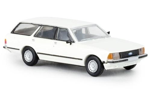 Brekina Ford Granada II Turnier (1977) weiß TD (19518)