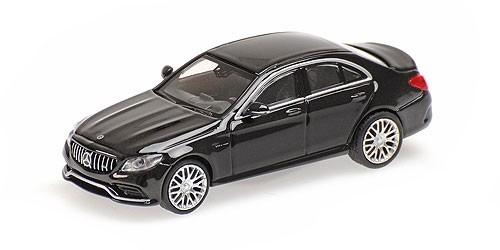 Minichamps: Mercedes AMG C 63 Limousine schwarz (870038102)