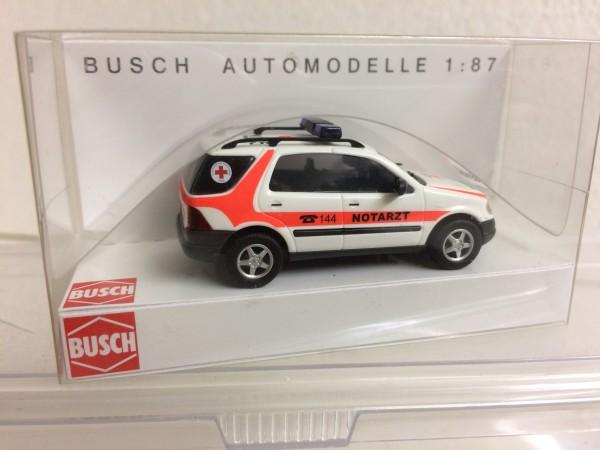 "Busch Mercedes M-Klasse ""ÖRK Notarzt"" (48509)"