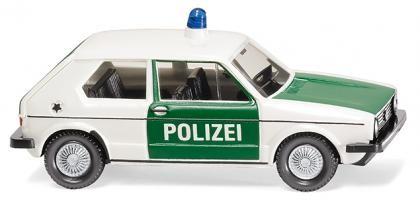 """Wiking VW Golf I """"Polizei"""" (004503)"""