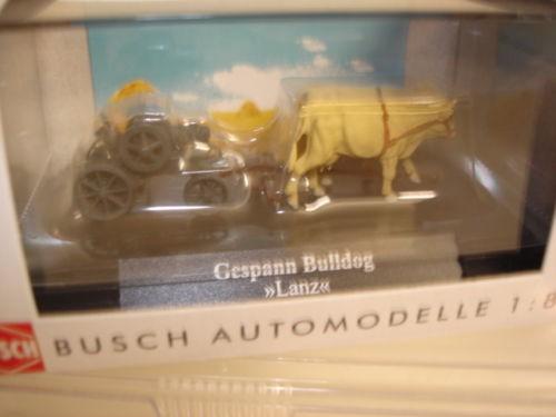 "Busch Gespann Bulldog ""Lanz"" in PC (59910)"