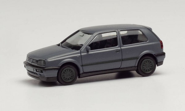 Herpa: VW Golf III VR6 nardograu Felgen grau (024075-002)