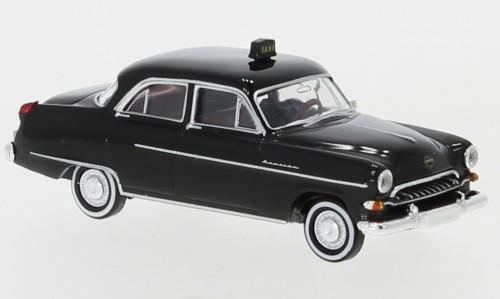 """Brekina Opel Kapitän 1954 """"Taxi"""" TD (20877)"""