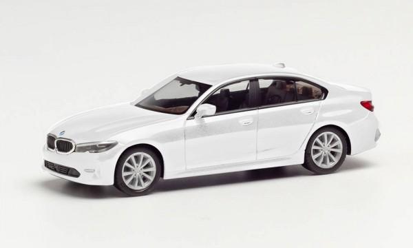 Herpa BMW 3er Limousine alpinweiß (420518-002)