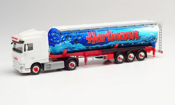 """Herpa: DAF XF Euro 6 SC Silo-Sattelzug """"Hartmann"""" (Nordrhein-Westfalen/Bestwig) (312820)"""