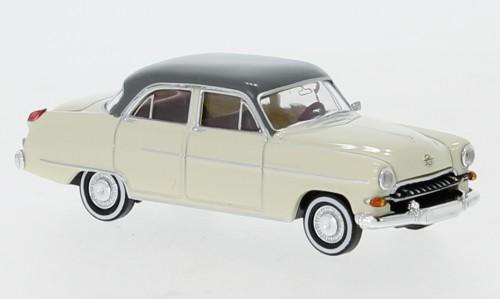 Brekina Opel Kapitän 1954 hellelfenbein/grau TD (20876)