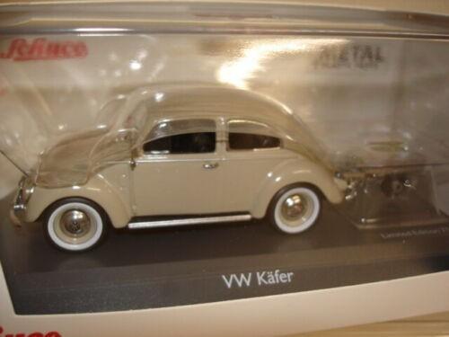 VW Käfer mit Auto Porter, beige in PC (02692)