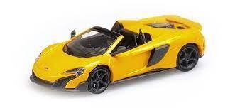 Minichamps: McLaren 675 LT Spider volcano yellow (870154432)