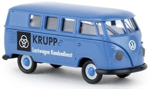 """Brekina VW T1b Kombi (1960) """"Krupp Lastwagen Kundendienst"""" (31597)"""
