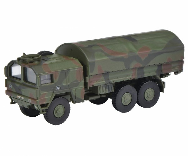 """Schuco MAN 7t GL """"Bundeswehr"""" flecktarn (26525)"""