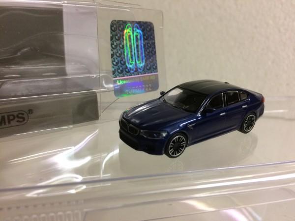 Minichamps: BMW M5 Limousine blau-met. (870028001)