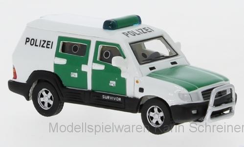 """BoS Toyota Land Cruiser Survivor """"Polizei"""" in PC (87640)"""