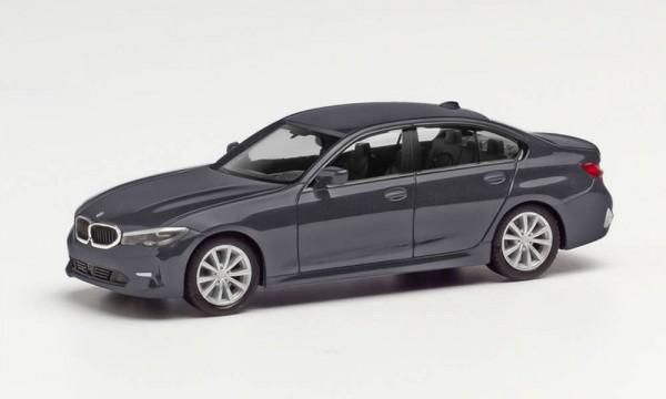 Herpa BMW 3er Limousine mineralgrau met. (430791-002)