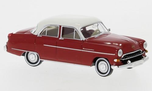 Brekina Opel Kapitän 1954 rot/weiß TD (20875)